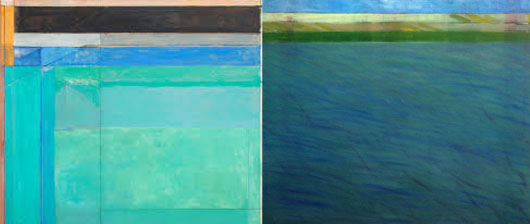 Ocean Park and Skys the Limit Paintings