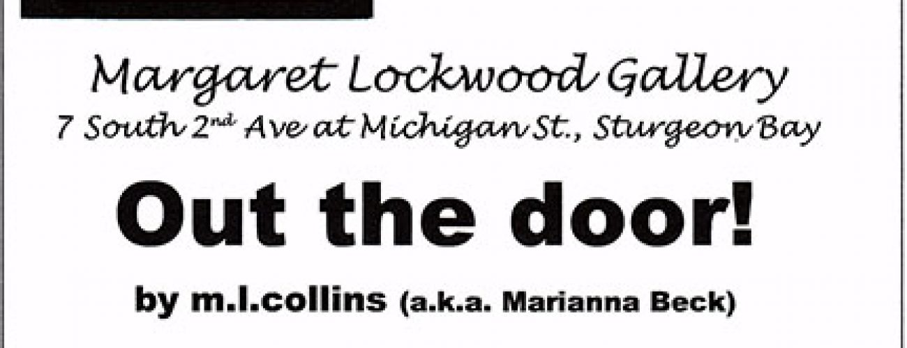 Out the door! book signing
