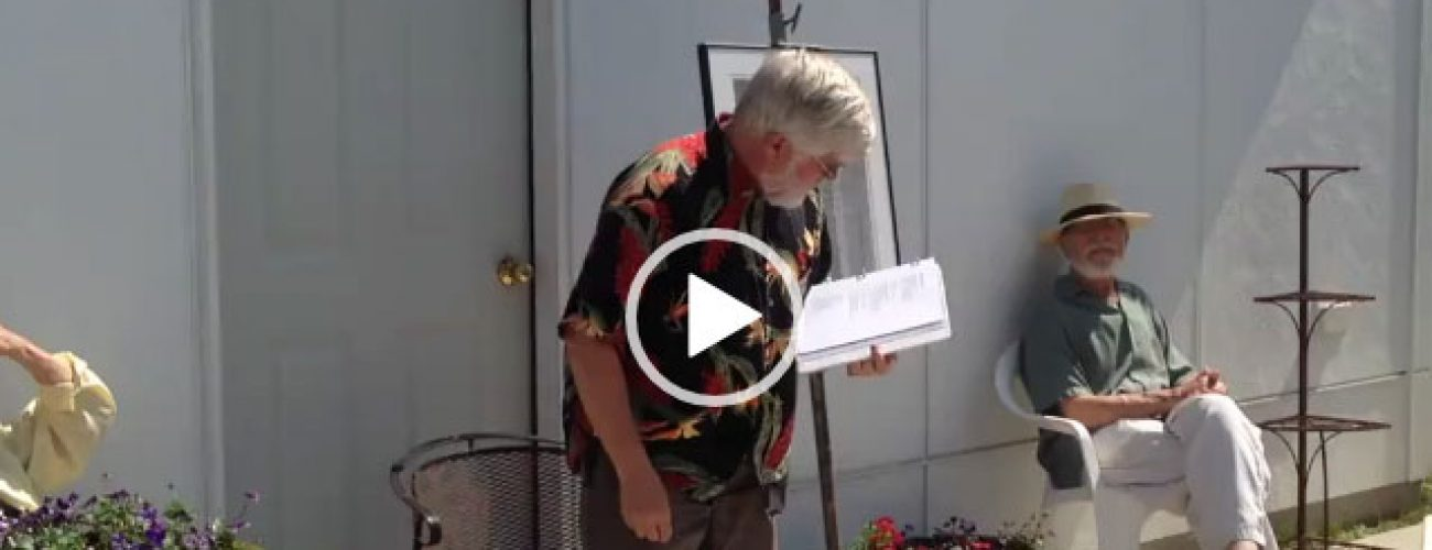 Door County Poet Rolf Olson Reads at Lockwood Gallery