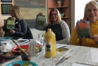 Margaret Lockwood mentoring other artists